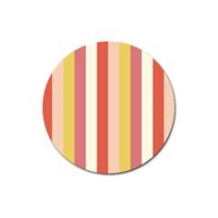 Candy Corn Magnet 3  (round)