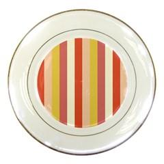Candy Corn Porcelain Plates