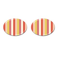 Candy Corn Cufflinks (oval)