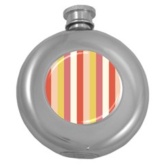 Candy Corn Round Hip Flask (5 Oz)