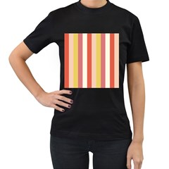 Candy Corn Women s T Shirt (black)