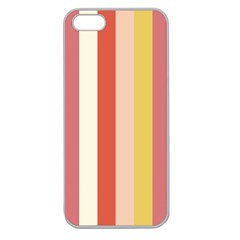 Candy Corn Apple Seamless Iphone 5 Case (clear)