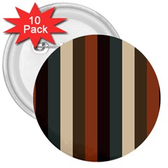 Young Nature 3  Buttons (10 Pack)