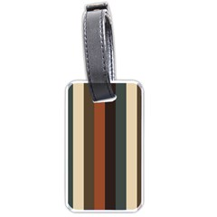 Young Nature Luggage Tags (one Side)