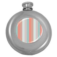 Seafoam Splash Round Hip Flask (5 Oz)