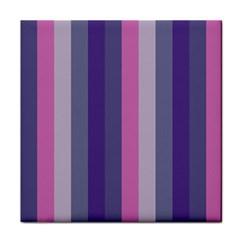 Concert Purples Tile Coasters