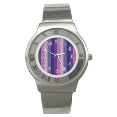 Concert Purples Stainless Steel Watch