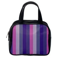 Concert Purples Classic Handbags (one Side)