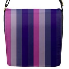 Concert Purples Flap Messenger Bag (s)