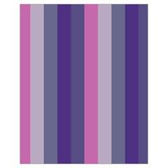 Concert Purples Drawstring Bag (small)