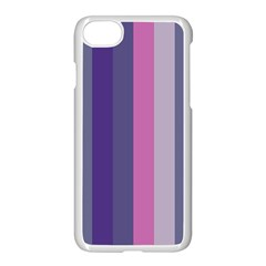 Concert Purples Apple Iphone 7 Seamless Case (white)