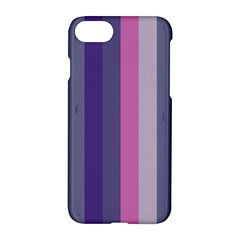 Concert Purples Apple Iphone 8 Hardshell Case