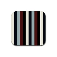 Wedding Rubber Square Coaster (4 Pack)