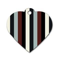 Wedding Dog Tag Heart (one Side)