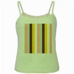 Dolly Green Spaghetti Tank