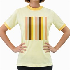 Dolly Women s Fitted Ringer T Shirts
