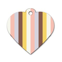 Dolly Dog Tag Heart (two Sides)