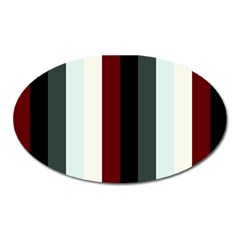Sitting Oval Magnet