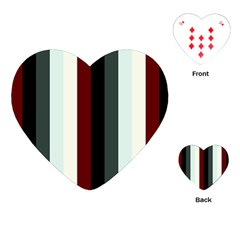 Sitting Playing Cards (heart)