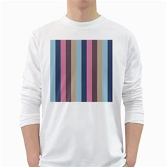 Modern Baroque White Long Sleeve T Shirts