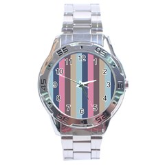 Modern Baroque Stainless Steel Analogue Watch
