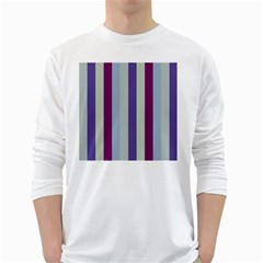 Sea The Sky White Long Sleeve T Shirts
