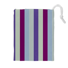Sea The Sky Drawstring Pouches (extra Large)