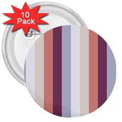 Grape Tapestry 3  Buttons (10 Pack)