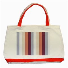 Grape Tapestry Classic Tote Bag (red)