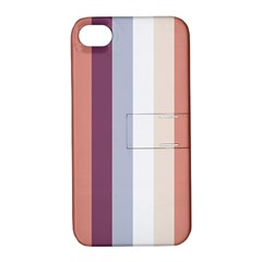 Grape Tapestry Apple Iphone 4/4s Hardshell Case With Stand