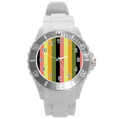 Afternoon Round Plastic Sport Watch (l)