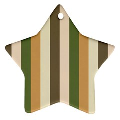 Earth Goddess Star Ornament (two Sides)
