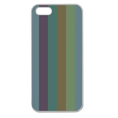 Rainy Woods Apple Seamless Iphone 5 Case (clear)