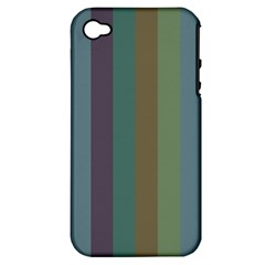 Rainy Woods Apple Iphone 4/4s Hardshell Case (pc+silicone)