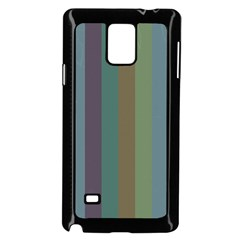 Rainy Woods Samsung Galaxy Note 4 Case (black)