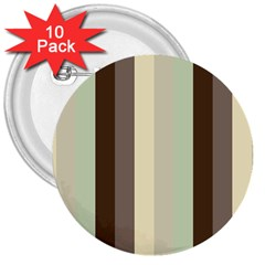 Mint Sunday 3  Buttons (10 Pack)