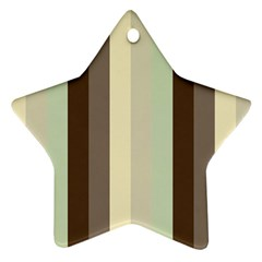 Mint Sunday Star Ornament (two Sides)