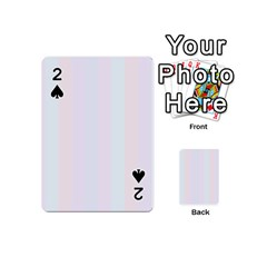 Albino Pinks Playing Cards 54 (mini)