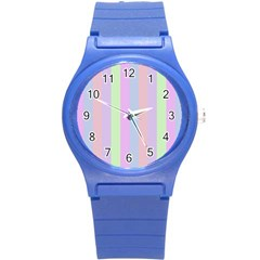 Baby Shoes Round Plastic Sport Watch (s)