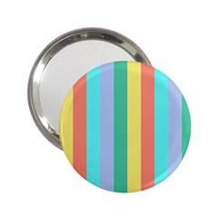 Summer Stripes 2 25  Handbag Mirrors