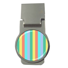 Summer Stripes Money Clips (round)