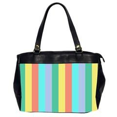 Summer Stripes Office Handbags (2 Sides)