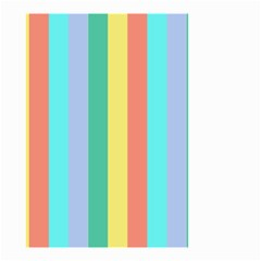 Summer Stripes Small Garden Flag (two Sides)