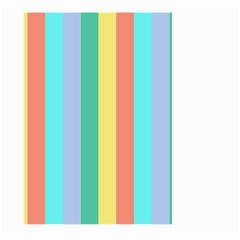 Summer Stripes Large Garden Flag (two Sides)