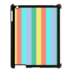 Summer Stripes Apple Ipad 3/4 Case (black)