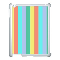 Summer Stripes Apple Ipad 3/4 Case (white)