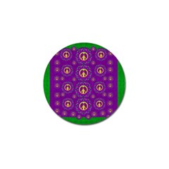 Peace Be With Us In Love And Understanding Golf Ball Marker