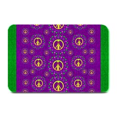 Peace Be With Us In Love And Understanding Plate Mats