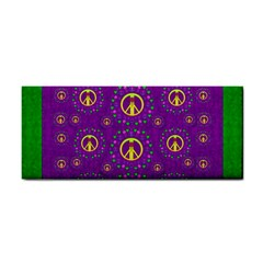 Peace Be With Us In Love And Understanding Hand Towel