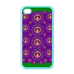Peace Be With Us In Love And Understanding Apple Iphone 4 Case (color)